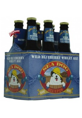 BLUE PAW WILD BLUEBERRY, SEA DOG, 6 PACKS