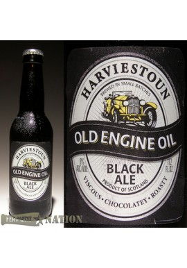 HARVIESTOUN OLD ENGINE OIL BLACK ALE, 6 PACKS