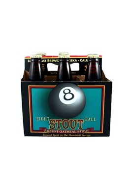 EIGHT BALL ROBUST OATMEAL STOUT, 6 PACKS