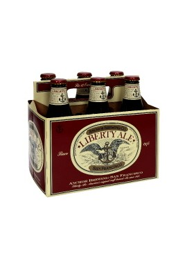 LIBERTY ALE, ANCHOR BREWING, 6 PACKS