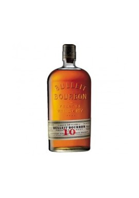 BULLEIT BOURBON FRONTIER WHISKEY, 10 YEARS OLD