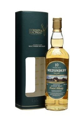MILTONDUFF SCOTCH WHISKY, AGED 10 YEARS