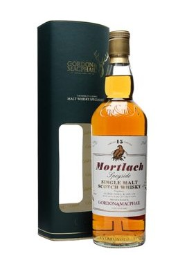 MORTLACH SCOTCH WHISKY, 15 YEARS AGED