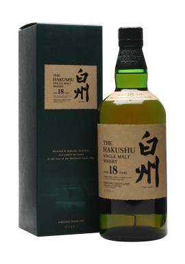 THE HAKUSHU 18yrs JAPANESE WHISKY 750ml
