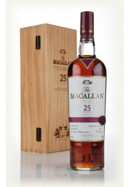 MACALLAN SCOTCH WHISKY, 25 YEARS OLD